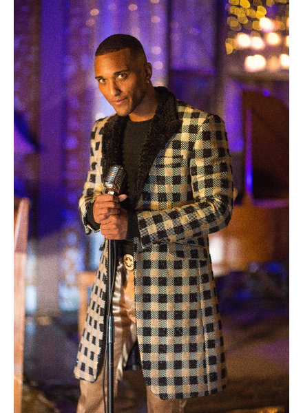 3/4 Check Blazer/Coat