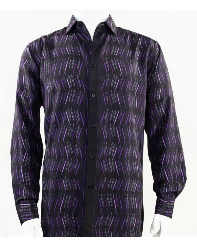 Bassiri L/S Printed Shirt