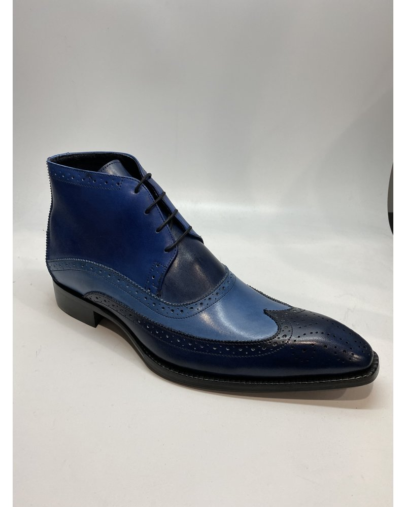 Duca Wing Tip Leather Boot