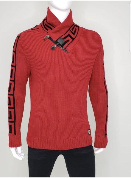Barabas Greek Key Sweater