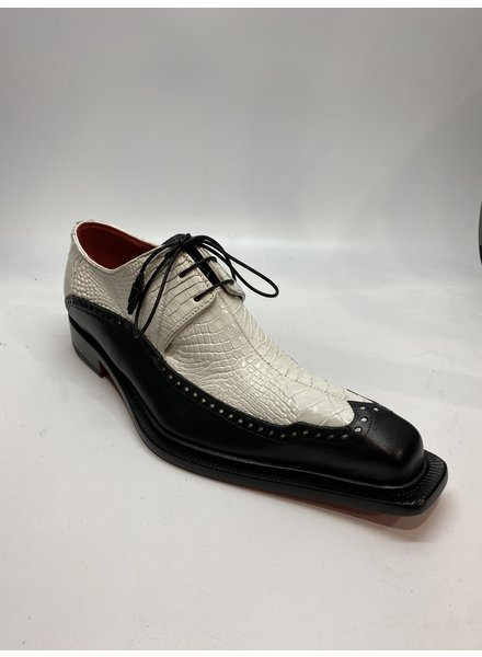 Fennix Finley Leather & Alligator Shoe
