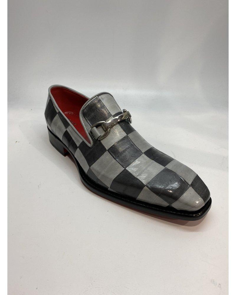 Fennix Oscar Eel Skin Loafer