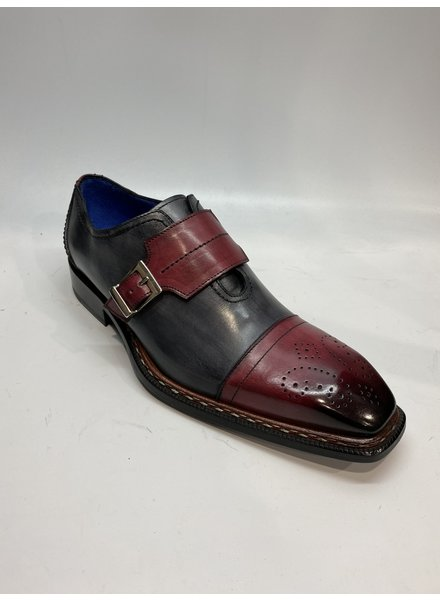 Emilio Franco Cap Toe Buckle Shoe