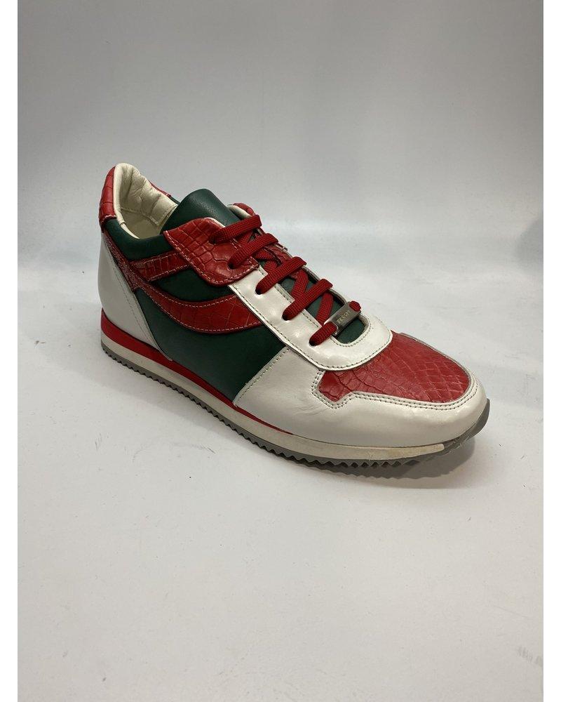 Fennix Sam Alligator/Calf Leather Sneaker