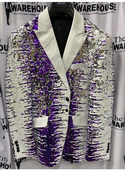Angelino Sequin Blazer