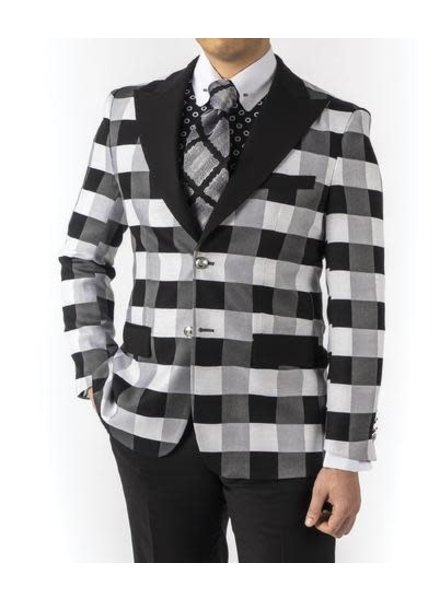 Robert Lewis Check Blazer