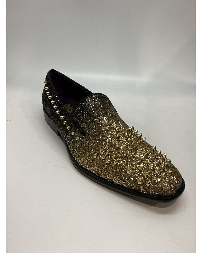 Faded Studded & Stone Loafer