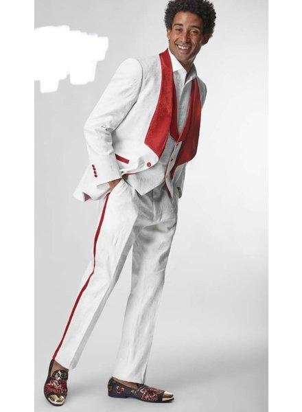 Silversilk Tuxedo Vested Suit