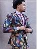 Steven Land Dante Colorful Feather Suit