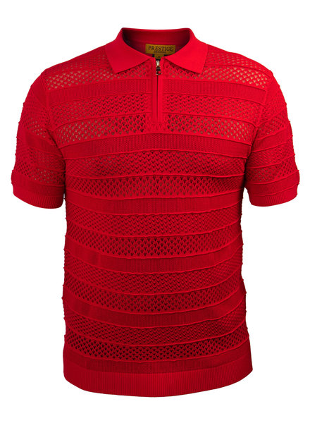 Prestige S/S Textured Polo