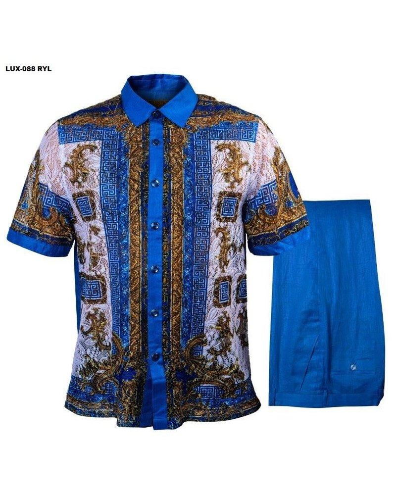 Prestige Lace Print Linen Set