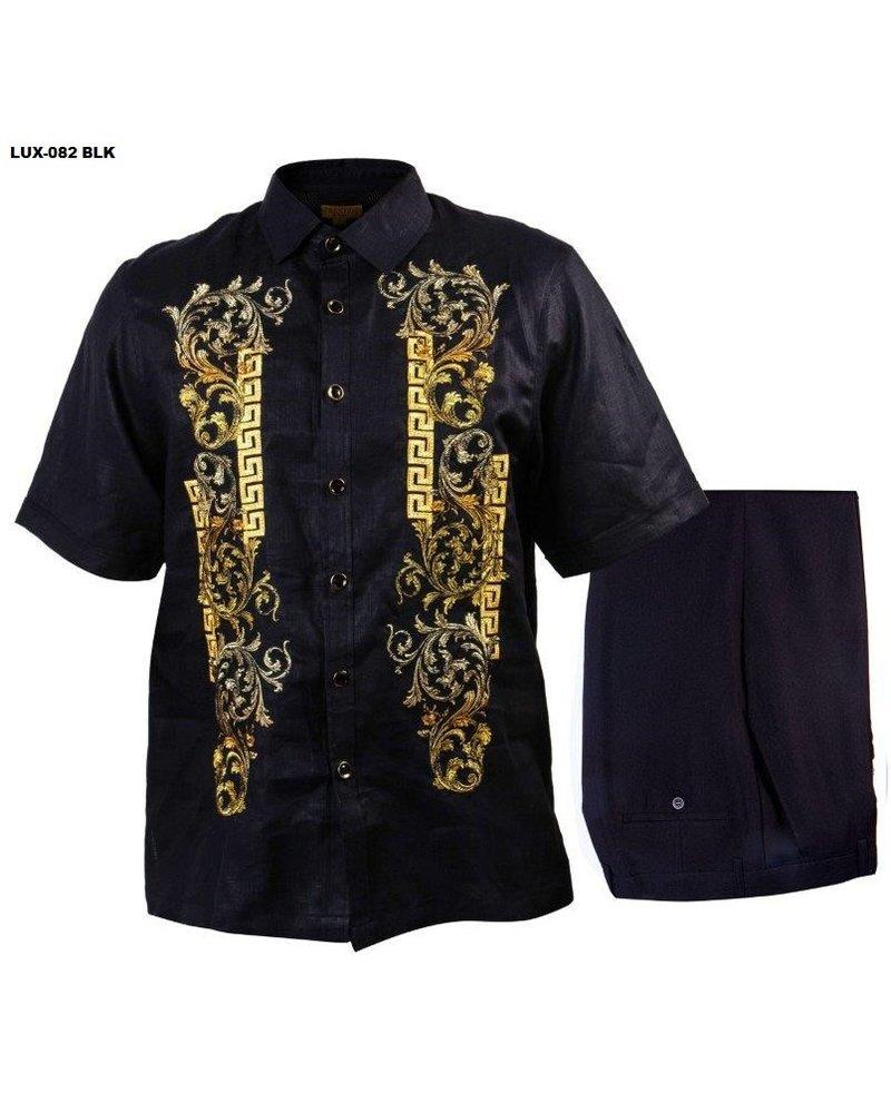 Prestige Embroidery Linen Set
