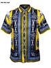 Prestige S/S Mdsa Print Satin Shirt