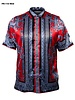 Prestige S/S Greek Print Satin Shirt
