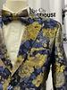 2B Floral Blazer W/Bow Tie