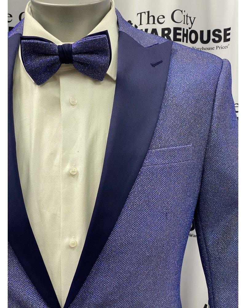 Peak Lapel Iridescent Tuxedo Suit