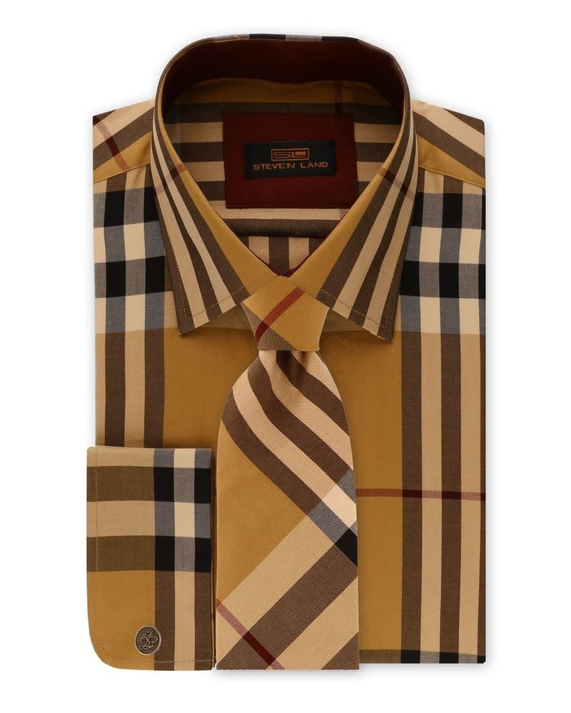 Steven Land Plaid Shirt