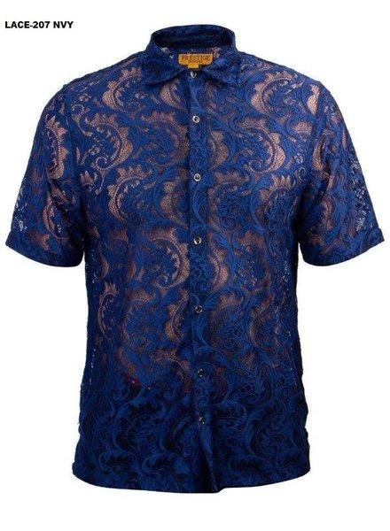 Prestige S/S Paisley Lace Shirt