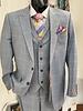 Steven Land 2B Vested Window Paine Suit