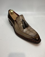 Fennix Trevor Leather & Alligator Loafer
