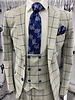 Steven Land Vincenzo Vested Window Paine Suit