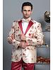 Manzini Floral Woven Blazer