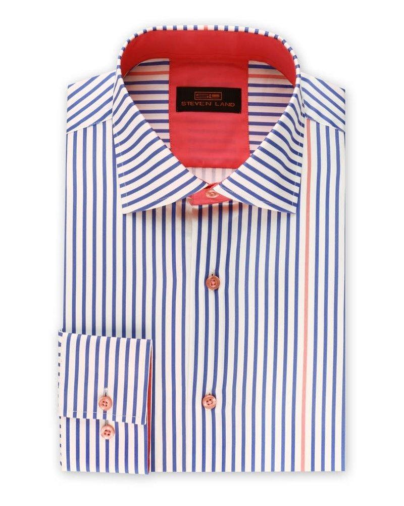 Steven Land Pinstripe Shirt