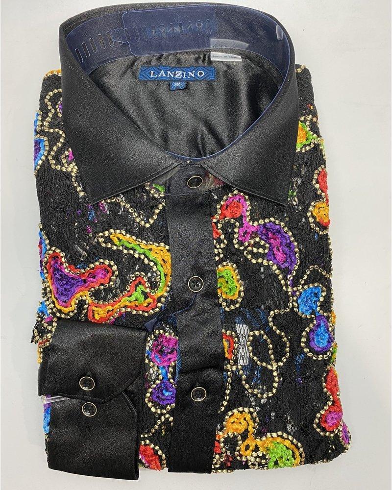 Lanzino L/S Lace Shirt