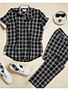 Inserch Plaid Linen Set