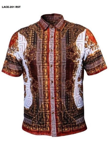 Prestige S/S Printed Lace Shirt