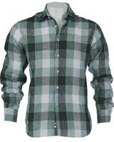 Inserch S/S Plaid Linen Shirt