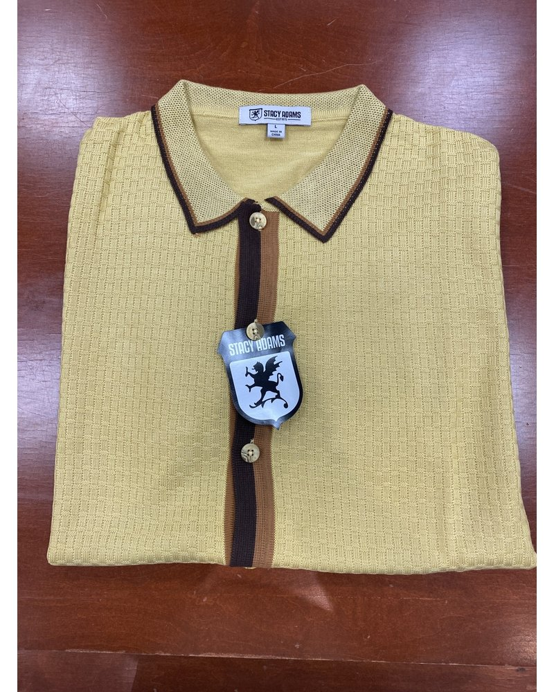 Stacy Adams Knit shirt (8100)