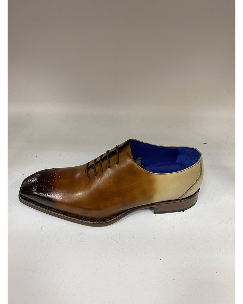 Emilio Franco Faded Tri Tone Leather Shoe (Valerio)