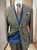 Falcone 2B Plaid Compose Vested Suit