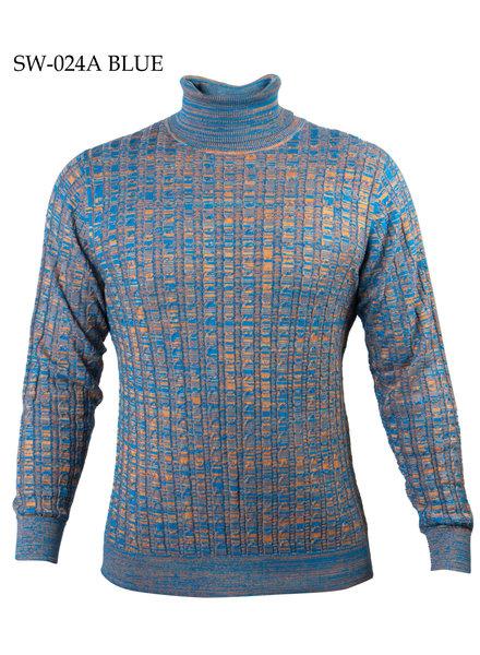 Prestige Dye Knit Turtleneck Sweater