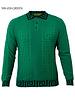 Prestige L/S Polo W/Greek Key Sweater
