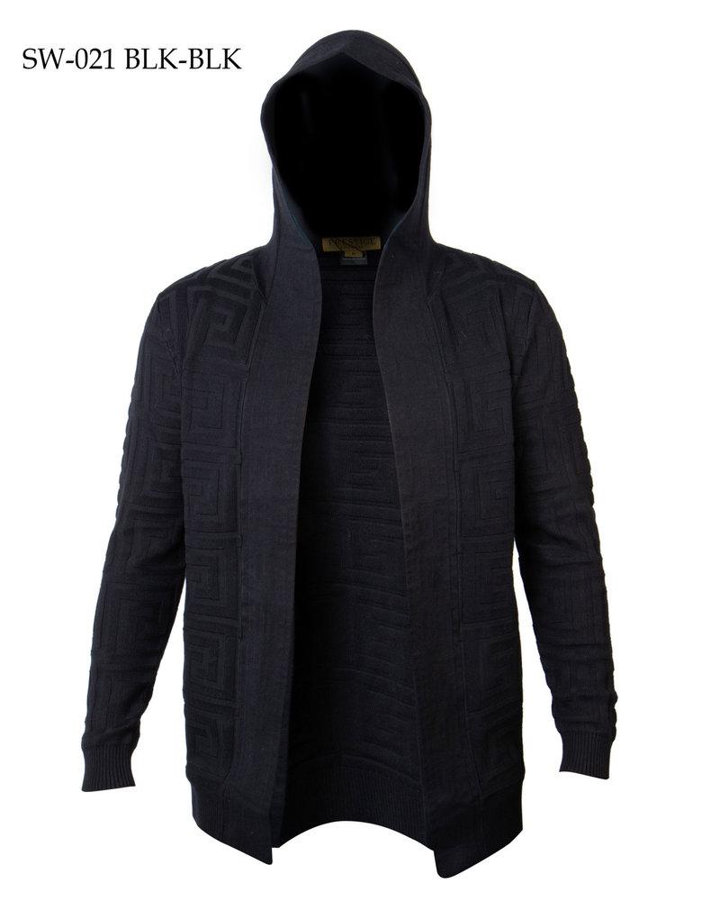 Prestige L/S Hooded Jacket Sweater