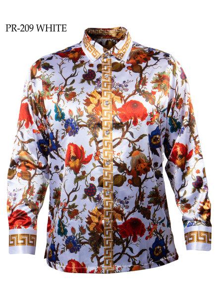 Prestige L/S Satin Digital Print Shirt