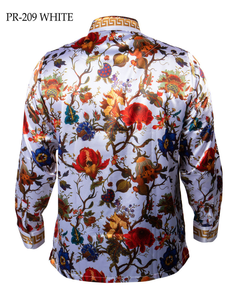Prestige L/S Satin Digital Print Shirt