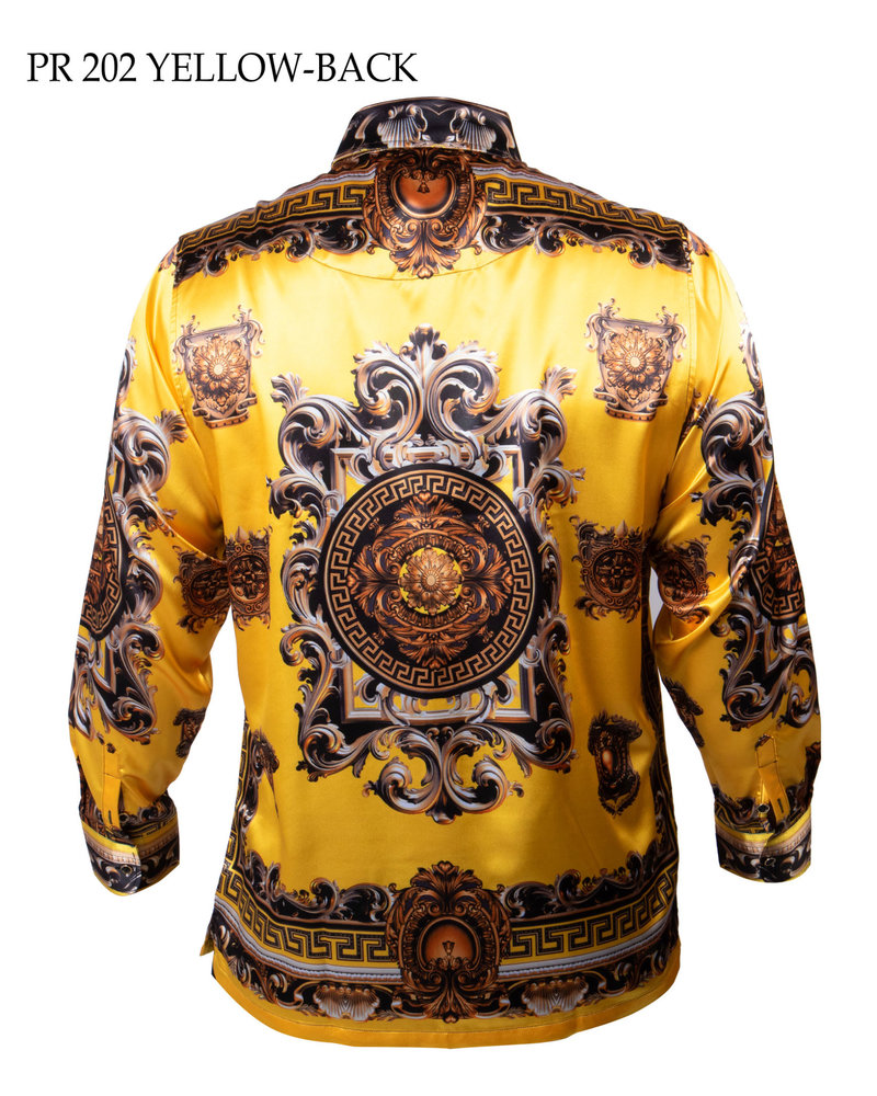 Prestige L/S Satin Digital Print Shirt (202)