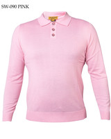 Prestige L/S Solid Polo Sweater