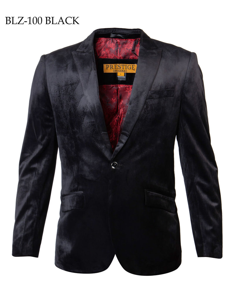 Prestige 1B Velvet Blazer