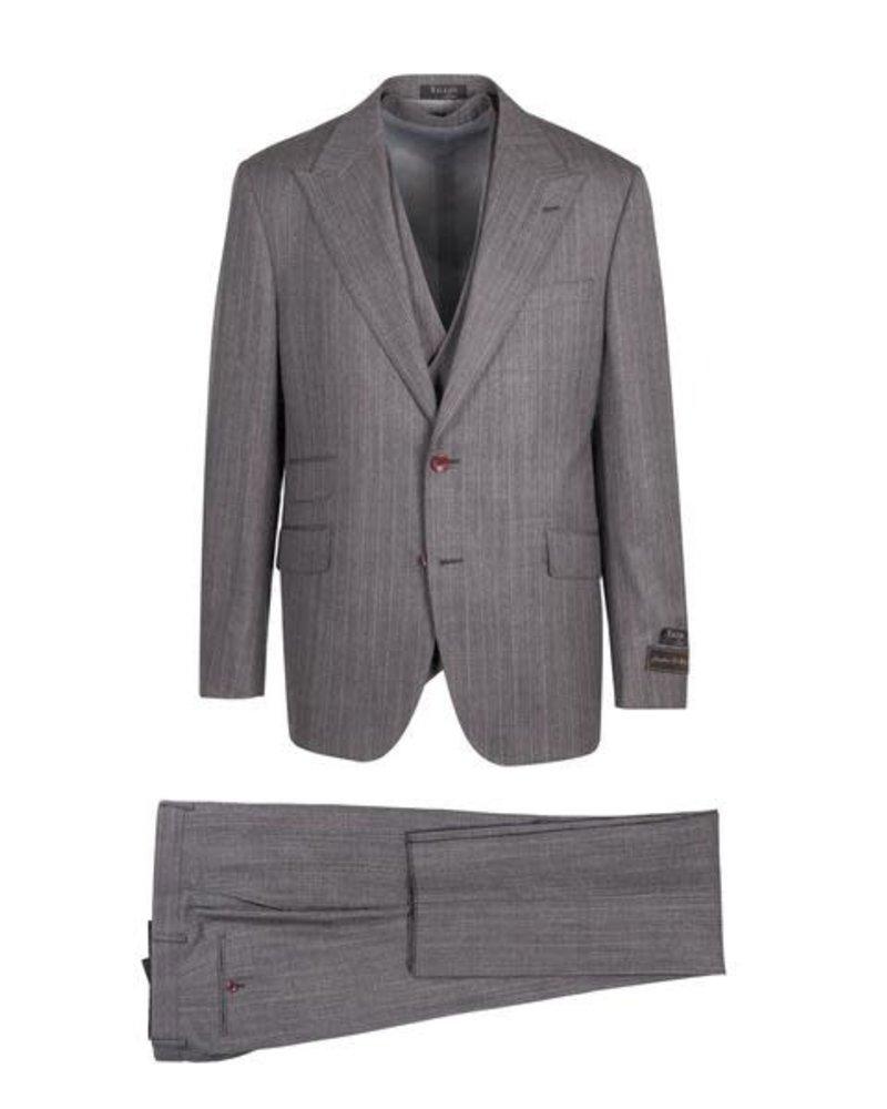 Tiglio Prosecco Vested Pinstripe Suit