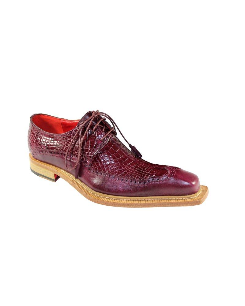 Fennix Finley Leather & Alligator Shoe