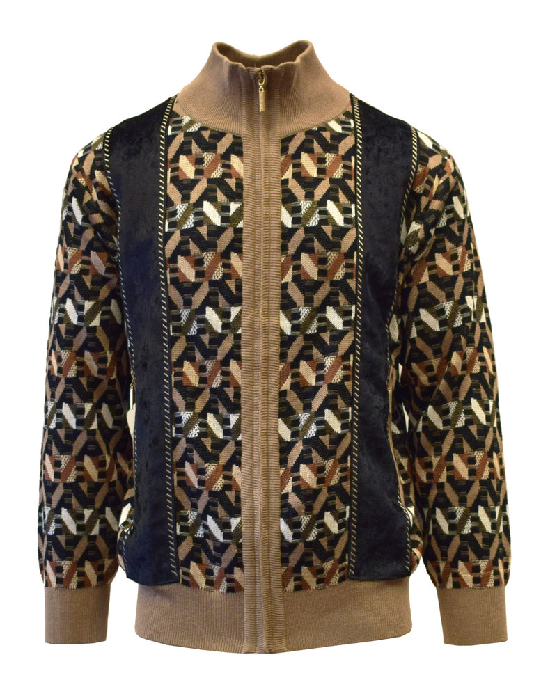 Silversilk Kaleidoscope Sweater (9124)