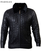 Prestige Full Zip Fur Collar Sweater