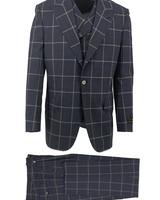 Tiglio Window Paine Vested Suit