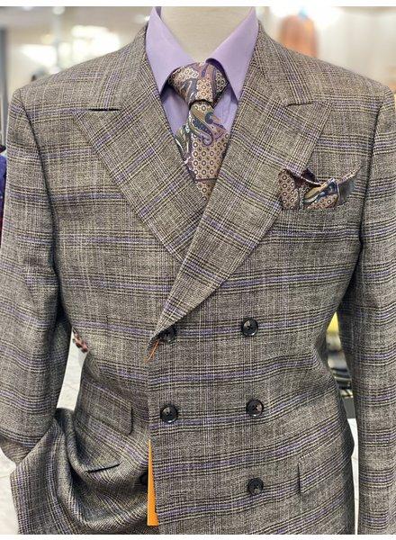 Steven Land D/B Glen Plaid Suit
