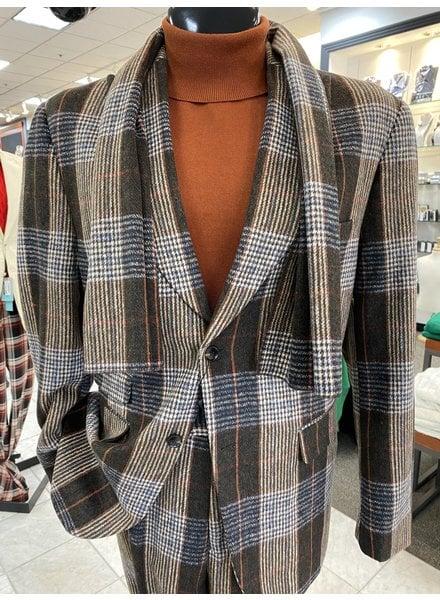 Thread & Stitch Window Plaid Check Suit