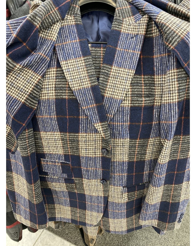 Thread & Stitch Window Plaid Check Suit